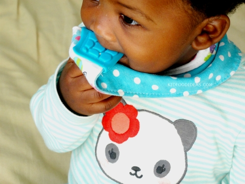 Nuby Teething Bib